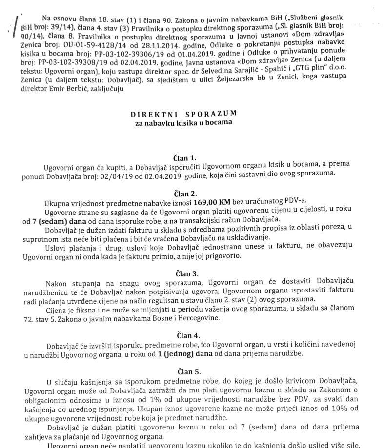 Demant na neistine u reakciji bivše direktorice Selvedine Sarajlić Spahić | DOM ZDRAVLJA ZENICA